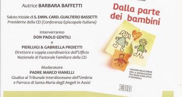 """DOMENICA 4 MARZO Presentazione del libro """"DALLA PARTE DEI BAMBINI"""" di Barbara Baffetti"""